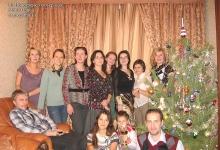 На новогодней вечеринке